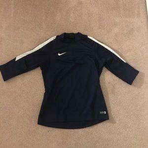Nike dry fit quarter zip